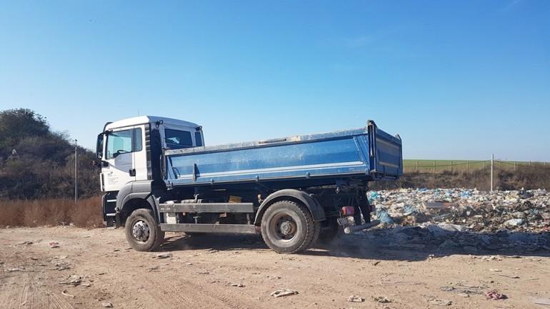 Депото за отпадъци в Разград
