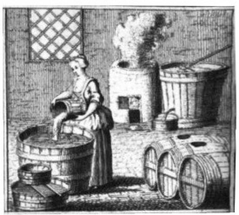 Жена вари бира