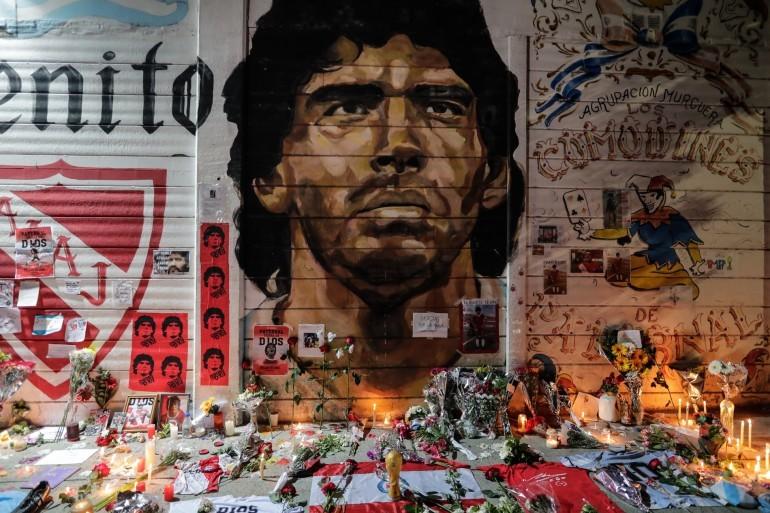 Бдение в памет на Марадона