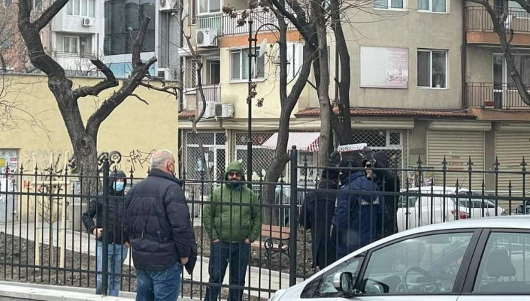 Протестиращите във Варна