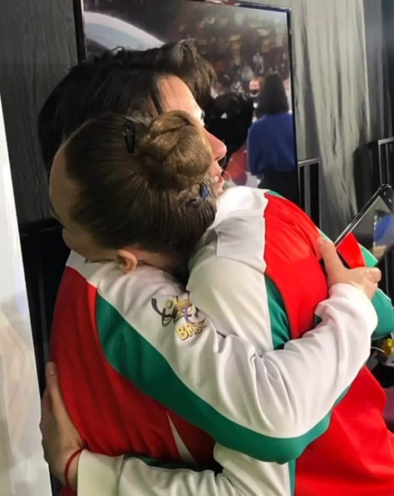 Шампионска прегръдка