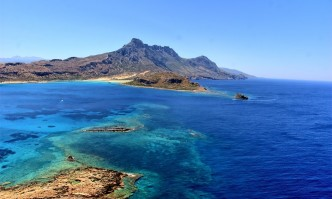 A strong earthquake was registered on the island of Crete