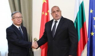 Boyko Borissov held a meeting with a delegation from China